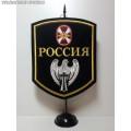 Вымпел с символикой ВВ МВД России (сокол)