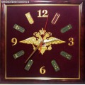 Настенные часы с символикой Внутренних войск МВД России