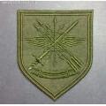 Шеврон военнослужащих Центрального узла связи РВСН для полевой формы