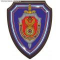 Щит с эмблемой Оперативно-поискового управления ФСБ России