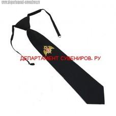 Форменный галстук с вышитым логотипом Росгвардии
