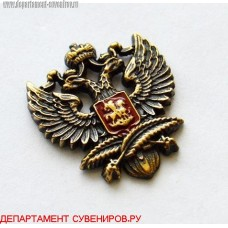 Фрачный значок Эмблема МИД России