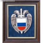 Плакетка с эмблемой ФСО России