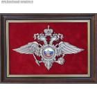 Плакетка с эмблемой МВД России