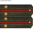 Погоны общевойсковые с вышитыми звездами звание лейтенант