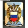 Кружка с эмблемой ФСО России