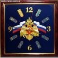 Настенные часы с эмблемой МЧС России