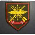 Шеврон военнослужащих Центрального узла связи РВСН нового образца