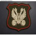 Нарукавный знак военнослужащих подразделений Военной автоинспекции Министерства обороны (нового образца)