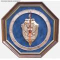 Настенные часы с эмблемой ФСБ России
