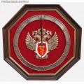 Часы настенные с эмблемой ФСКН РФ