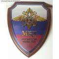 Щит с эмблемой МВД России