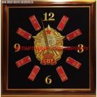 Настенные часы с эмблемой Сувровского военного училища