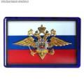 Магнит рельефный с эмблемой МВД России